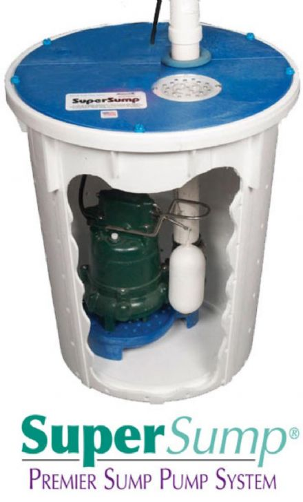 SuperSump with High Water alarm